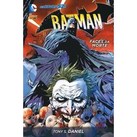 Batman Faces Da Morte Dc Comics Capa Dura