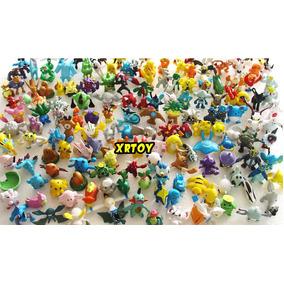 Pokémon 144 Bonecos Miniaturas