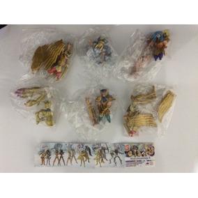 Set 6 Gashapon Cavaleiros Zodiacos Bandai Saint Seiya Maxi 4