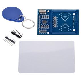 Módulo Leitor Rfid Rc522 + Cartão + Chaveiro Tag - Arduino
