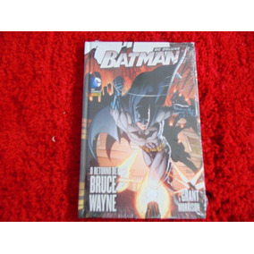 Dc Deluxe: Batman - O Retorno De Bruce Wayne, Capa Dura, Óti