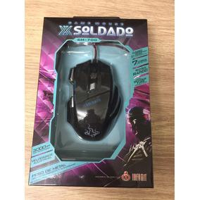 Mouse Gamer - Soldado 3000dpi , Velocidade Ajustável