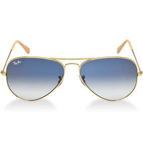 0c75a8d220207 Óculos De Sol Ray Ban Aviador 3025 Pequeno - Armação Dourada. R  249 99