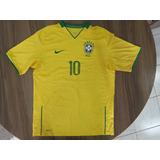 Camisa Do Brasil 2008 - Camisa Brasil Masculina no Mercado Livre Brasil 97786fedae466