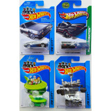 Pack Hot Wheels Delorean - Batmobile - Jetsons - Curiosity
