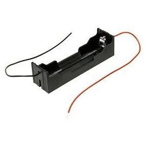 Bateria Holder 18650 Simple Abierto Porta Pila Itytarg