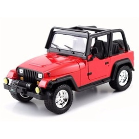 Miniatura Jeep Wrangler Just Trucks 1992 Vermelho 1:24 Jada
