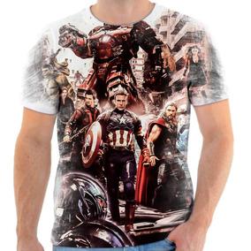 Kit Camisas Personalizadas Familia Vingadores Kit 7 - Calçados ... 47059f4bdfbe5