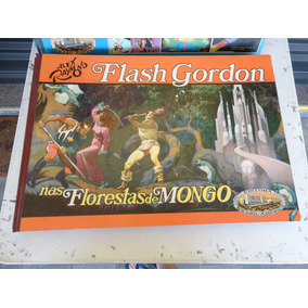 Flash Gordon! Vol 4! Nas Florestas De Mongo! Ebal 1979!