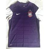 Rara Camisa Nike Corinthians Roxa Treino P 2009 Aceito Troca 687afae106e04