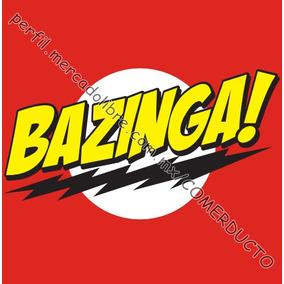 Playera Sheldon Bazinga Big Bang Theory