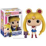 Pop! Animation: Sailor Moon - Sailor Moon & Luna Nuevo