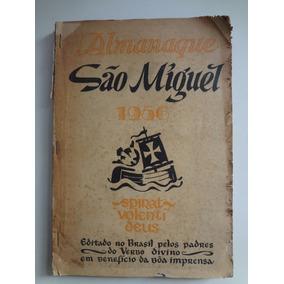 Livro Almanaque São Miguel Ano 1956