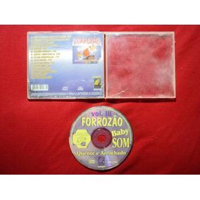 Cd Original - Forrozão Baby Som - Volume 3 - 1996