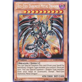 Red-eyes Darkness Metal Dragon Super Raro Mint Yu-gi-oh!