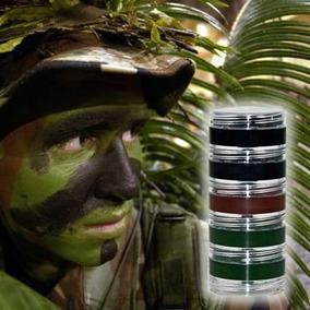 Kit Camuflagem 3 Cores Militar Exército Airsoft Paintball