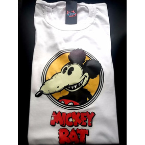 Remeras Mickey Rat Estampadas Retro 80 Vintage Varias