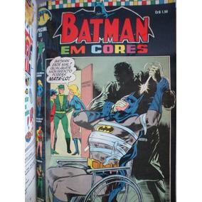 Coleção Gibis Batman Em Cores Especial Ebal 1970-1971-1972