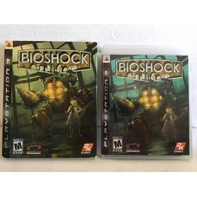 Playstation 3 : Bioshock 1 Primeira Edição Com Luva Papel Cx