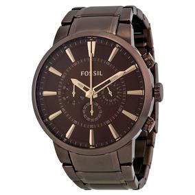 Relógio Masculino Fossil Marrom - Fs4357( Nota Fiscal )