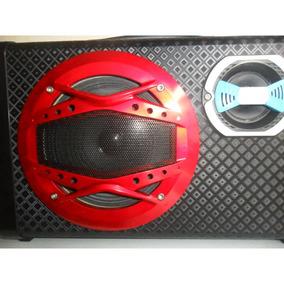 Caixa Som Amplificada Portátil Bluetooth Microfone Guitarra