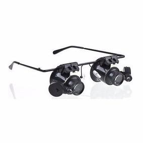 b3337ec4763da Óculos Lupa 20x Relojoeiro Joalheiro C led Ajustável Oferta