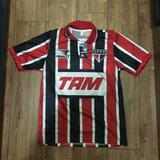 Camisa São Paulo Retro - Tricolor - Tam - 92/93 - Raí -