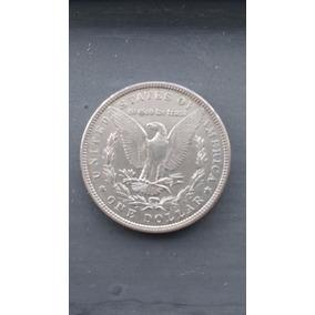 Moeda De Prata One Dollar Morgan Usa 1887