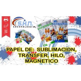 Papel De Sublimacion Transfer Hilo Magnetico Originales Ati