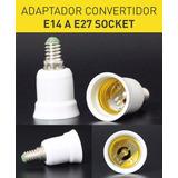 Adaptador E14 A E27 Socket Convertidor