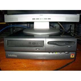 K891 Cpu Itautec Infoway Celeron 900 Pga370 512mb W2000 Sp4