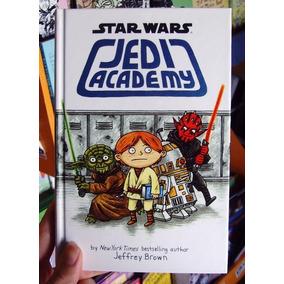 Star Wars Academia Jedi - Jeffrey Brown - Capa Dura Lacrado