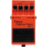 Pedal De Guitarra Md-2 Mega Distortion - Md2 Boss C/nf