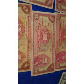 1 Cédula 5000 Cruzeiros Azul Ou Vermelha Frete Gratis