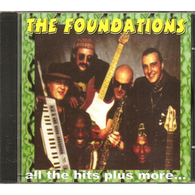 Cd The Foundations - All The Hits Plus More - Soul Britanico