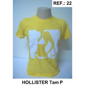 bebcbc130039e Camisetas Masculinas Hollister - Calçados