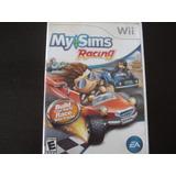 My Sims Racing Nintendo Wii Y Wii U