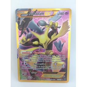 Carta Pokemon Alakazam Ex Full Art 125/124