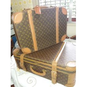 Par De Valijas Antiguas Francesas Originales Louis Vuitton