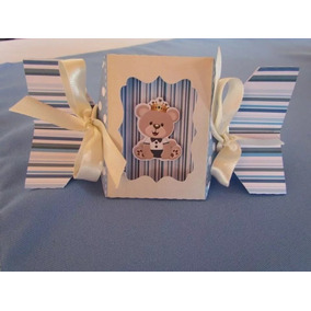 Kit Digital Silhouette Urso Baby Realeza Azul Flor Tubete