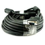 25 Ft Svga Estupendo Monitor / Lcd / Cable Proyector / M Vga