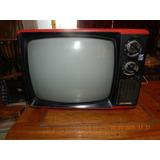 Televisor Blanco Y Negro Riviera 12 Vintage