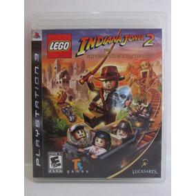 Lego Indiana Jones 2 - Play 3 Original Completo Americano