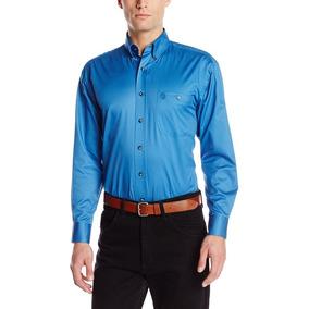 Camisa Wrangler George Strait Talla M (más Amplia) Importada