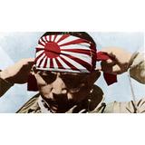 Bandana Hachimaki Piloto Kamikase Japonés Segunda Guerra