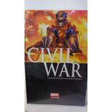 Civil War Portada Wolverine Marvel Deluxe Pasta Dura