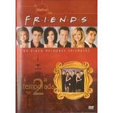 Dvd - O Melhor De Friends - 2 Temporada - Wb
