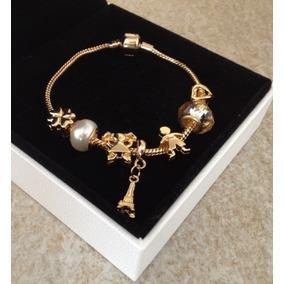 Monreale Bracelete De Ouro 18k Com Trava De Segurança - Pulseiras e ... a803ec1434