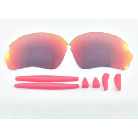 4d926d56ec06c Óculos Oakley R2 Lente Razorhalf Dark Ruby Borracha Vermelha · R  189 90