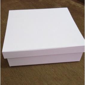 Caixa Branca Em Mdf 10x10x5 (10 Unidades )